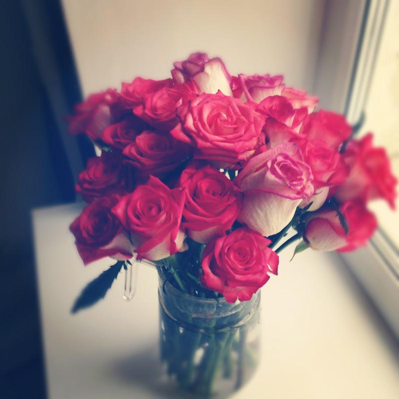 Фото цветы розы подарки