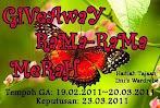 @20 mac : Giveaway Rama-Rama Merah by Izzatul Iman