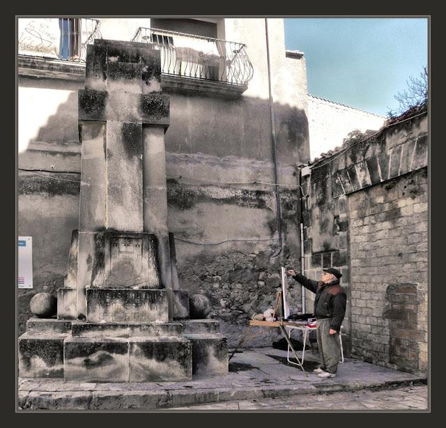VILALBA DELS ARCS-PINTURA-TERRA ALTA-TARRAGONA-MONUMENTOS-GUERRA CIVIL-HISTORIA-FOTOS-PINTOR-ERNEST DESCALS-