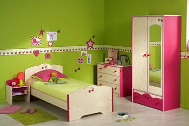 Decoraci n de habitaciones de los ni os infantil decora for Cuarto para las 5