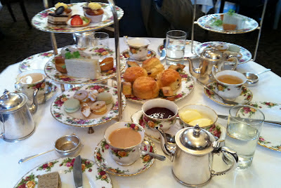 Southern Spoon Blog: high tea at the Queen Victoria Building, Sydney
