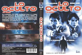Caratula: Lo oculto (1987) (Dvd)