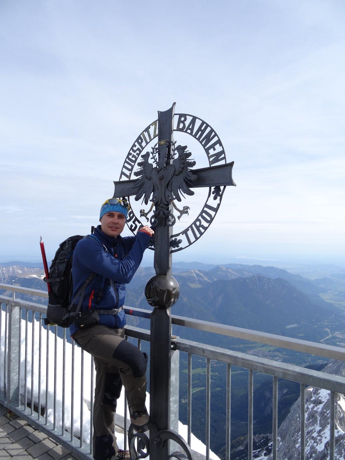 ALPY BAWARSKIE [A] - ZUGSPITZE 2950 m