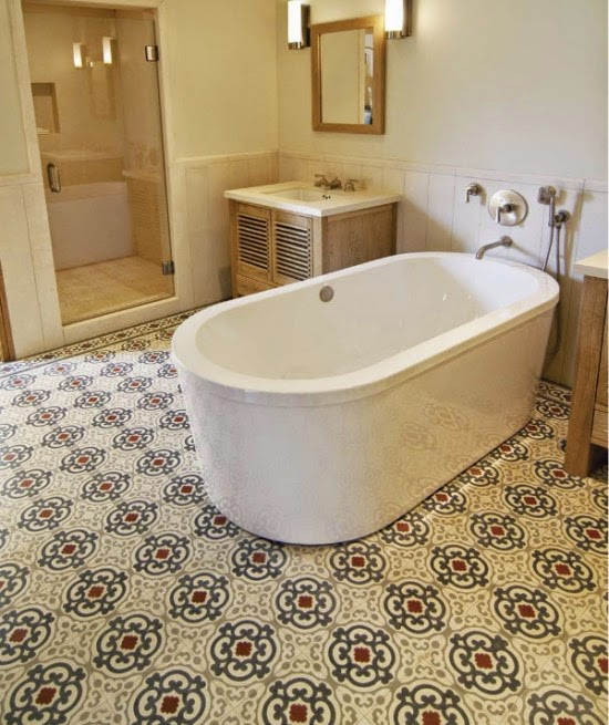 healthy options for bathroom flooring