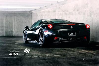 Ferrari 458 Preta