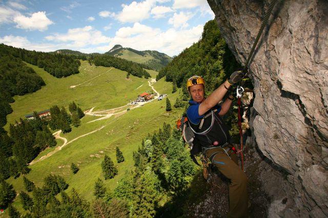 Klettersteig Walchsee : Klettersteige mit anspruch und ausblick