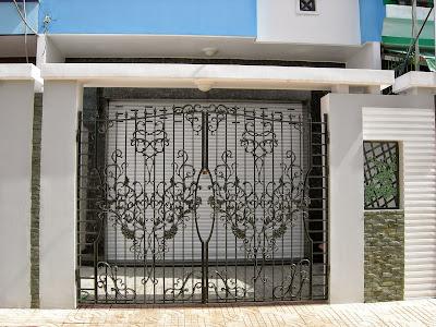 cổng biệt thự ASUZAC