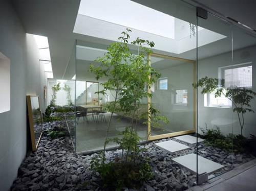 Studiomorado: ideas para jardin interior   interior courtyard ideas