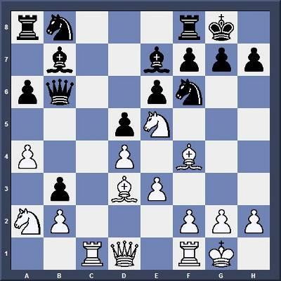 Echec & Tactique : Les Blancs jouent et gagnent en 5 coups