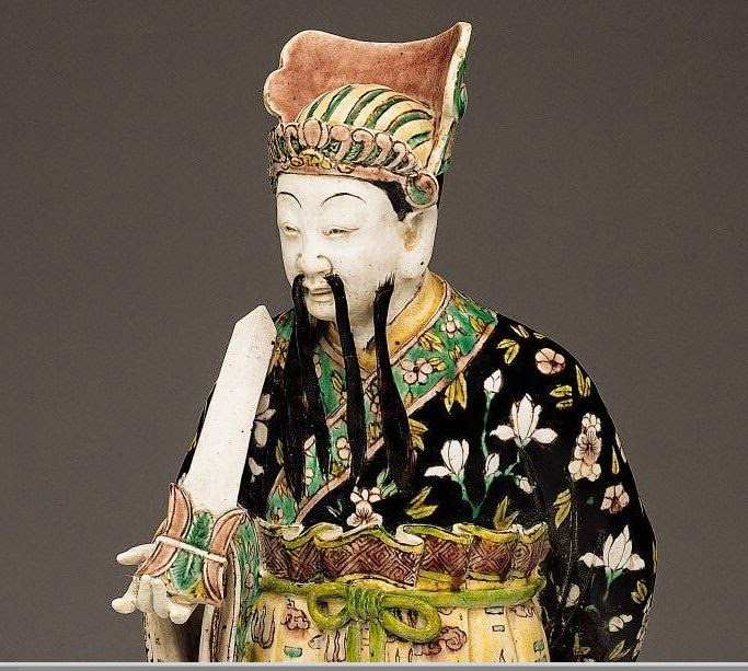 "<img src=""Chinese Daoist Biscuit figure .jpg"" alt=""With Famille verte enamels"">"