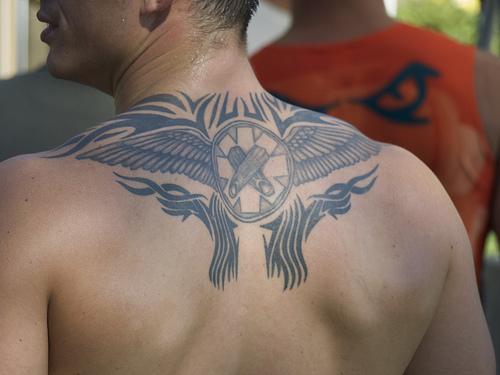 tribal sleeve tattoos for men. girlfriend tribal sleeve