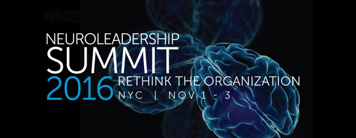 NEUROLEADERSHIP SUMMIT, NOVEMBER 2016