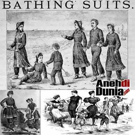 Sejarah Bikini Pakaian Wanita