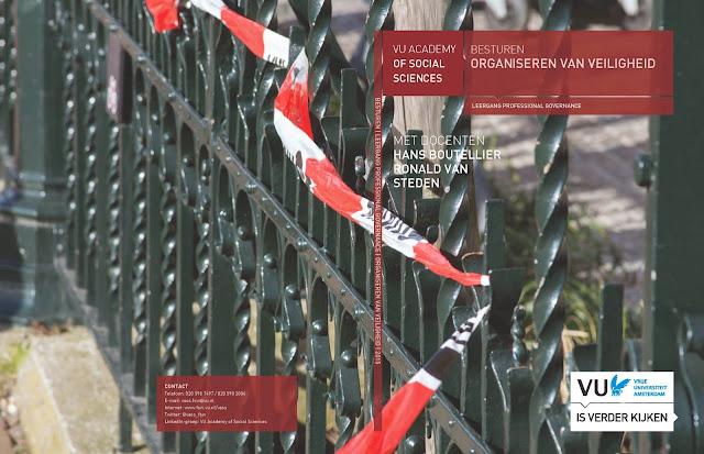 Brochure Organiseren van Veiligheid