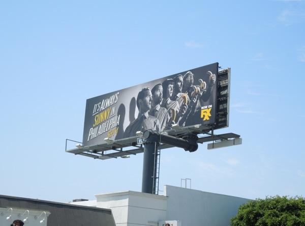 Always Sunny in Philadelphia 9 billboard ad
