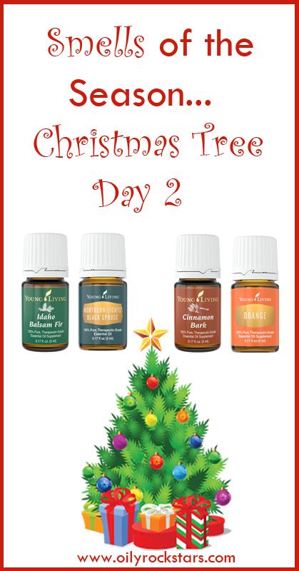 Smells of the season day 2 christmas tree oily rockstars