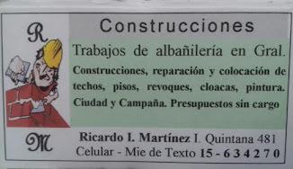 RM CONSTRUCCIONES