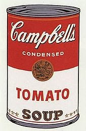What Can band name stands for - Warhol-Campbell_Soup-1-screenprint-1968