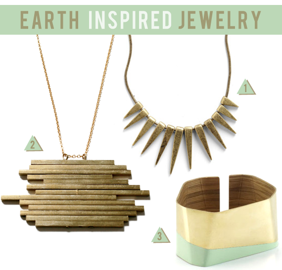 Spring 2012: Earth Inspired Jewelry