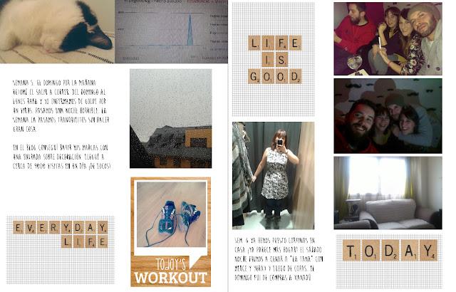 Project Life 2015: mes de enero