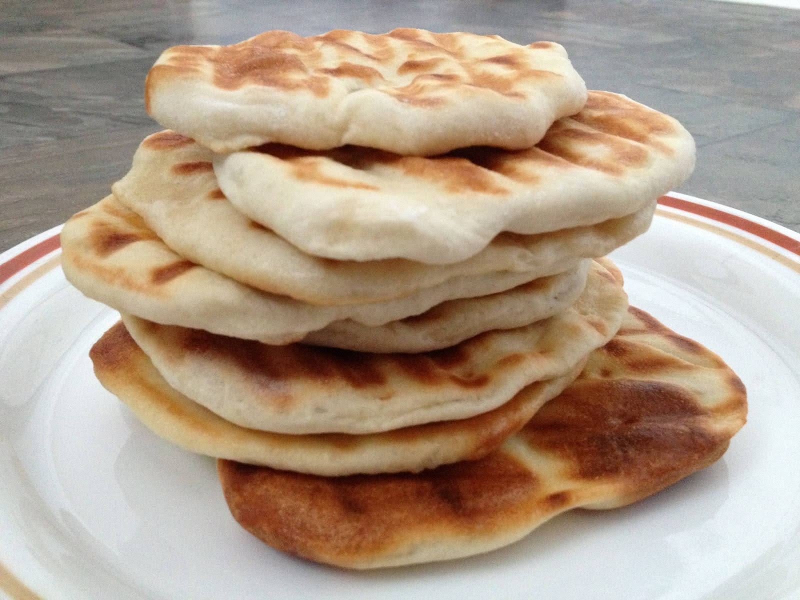 When Food Becomes A Challenge: Indian Naan Bread Recipe