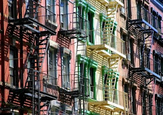 immeubles quartier TriBeCa New-York