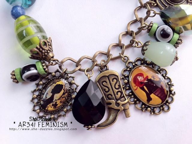 feminism-charm-bracelet