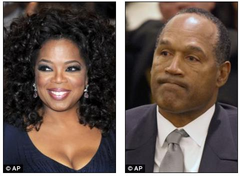 Has O.J. Simpson confessed murder to Oprah? Huge TV interview planned in which convict 'will admit he killed Nicole in self-defence