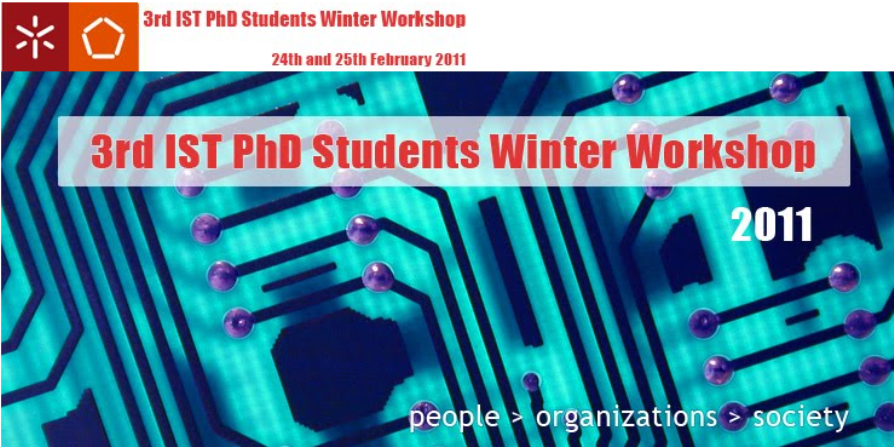 3rd IST PhD Students Winter Workshop