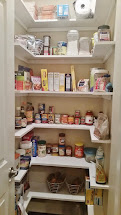 Kitchen Wire Shelves for Pantry