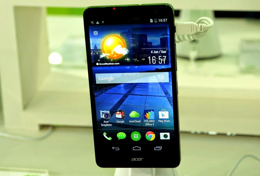 Spesifikasi Acer Liquid X1