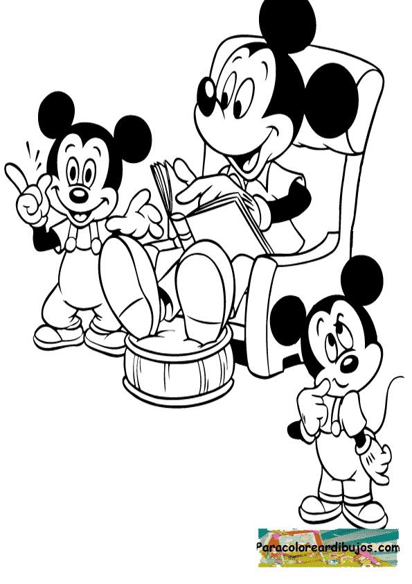 Minnie Mouse para colorear