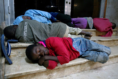 Crianças vivendo nas ruas de Maputo
