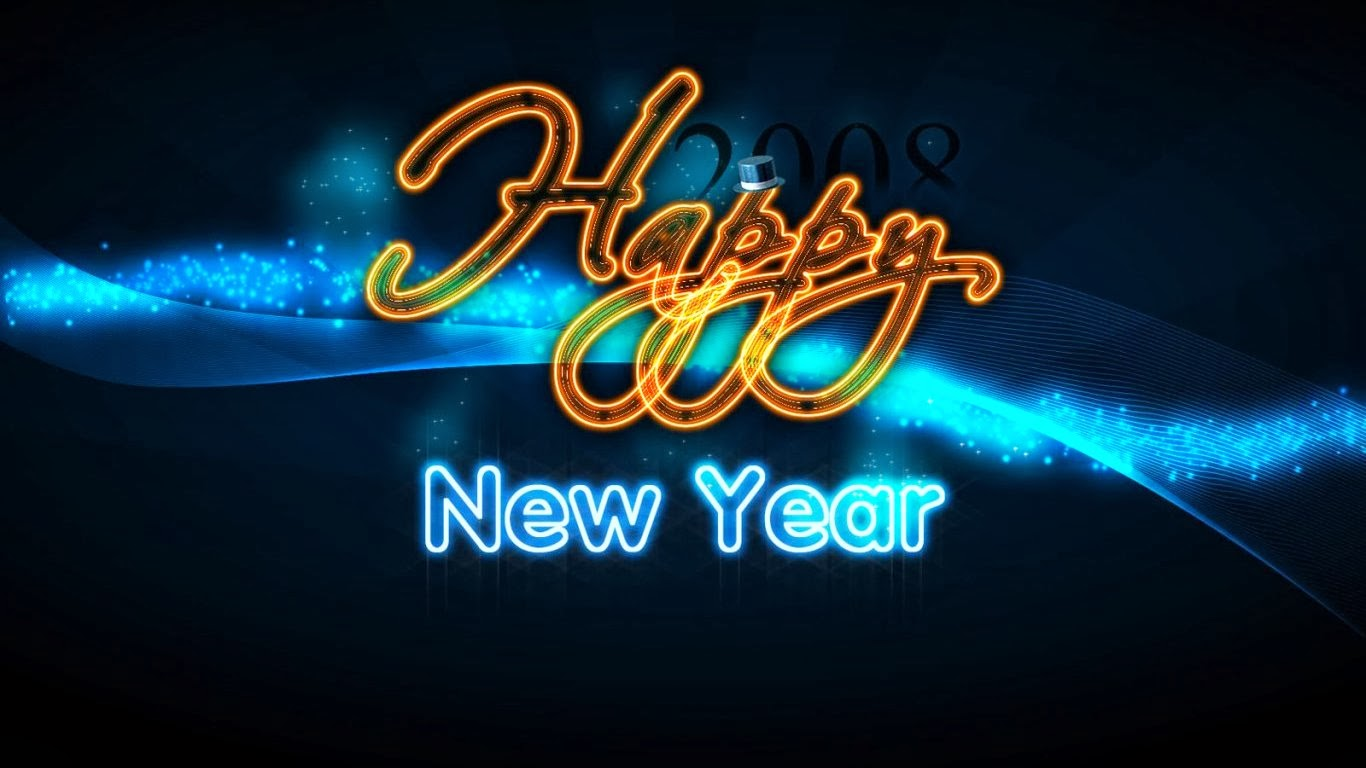 Hình nền chúc mừng năm mới 2014 - Happy New Year Wallpaper HD 2014