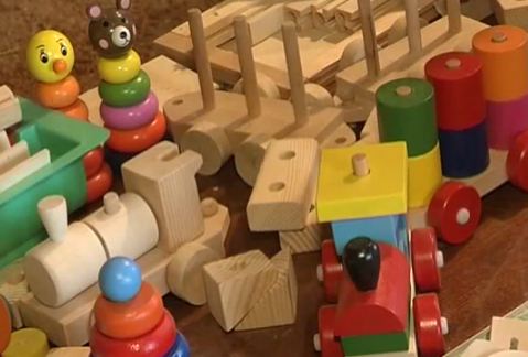 чистка игрушек