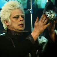 """Imágenes de Ronan el Acusador y del personaje de Glenn Close en """"Guardianes de la Galaxia"""""""