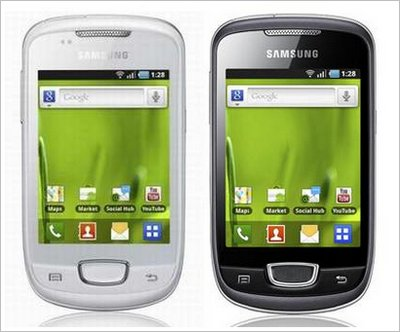 Samsung Galaxy Mini GT-S5570 Grey Colour
