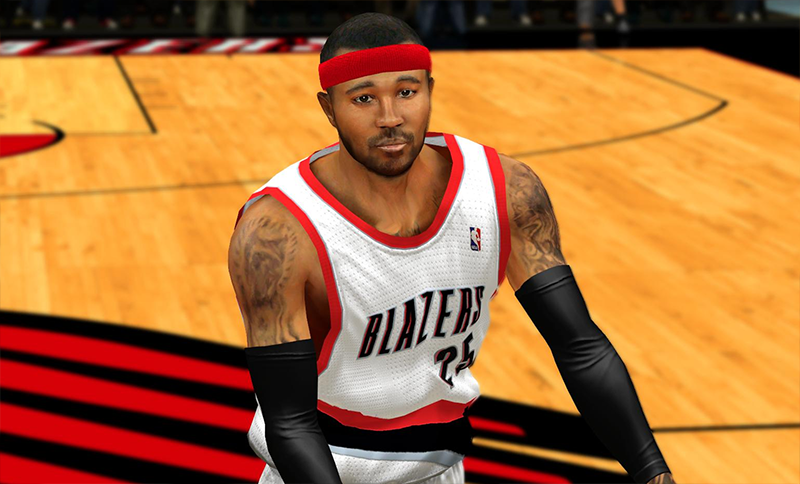 NBA 2K14 Mo Williams Face Mod
