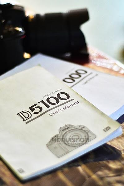 dslr, nikon, d5100, user's manual, buku manual