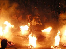 Uluwatu fire dance