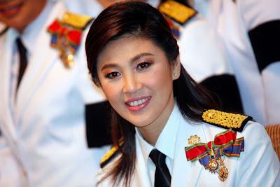 Yingluck Shinawatra, Perdana menteri Cantik dari Thailand