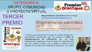 3º Premio Orientapas 2015
