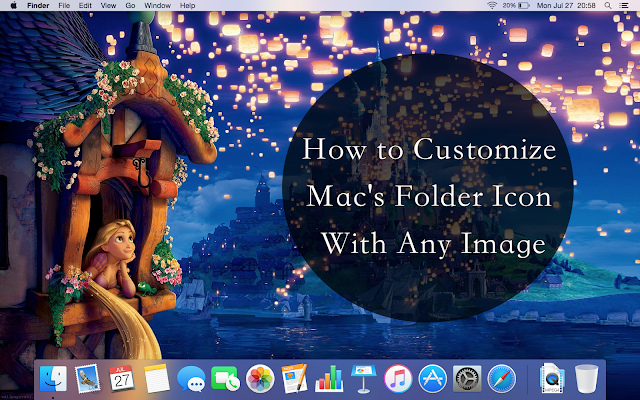 Nicole Cynnie | How to Customize Mac's Folder Icon With Any Image