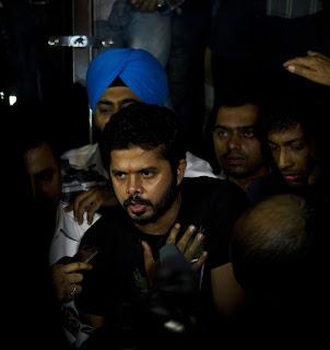 Sreesanth speaks after being released from jail, Delhi, June 11, 2013