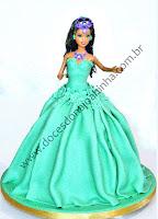 bolo decorado princesa yasmine Aladin