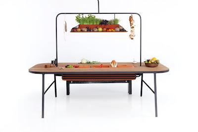 Cocina diseño sostenible