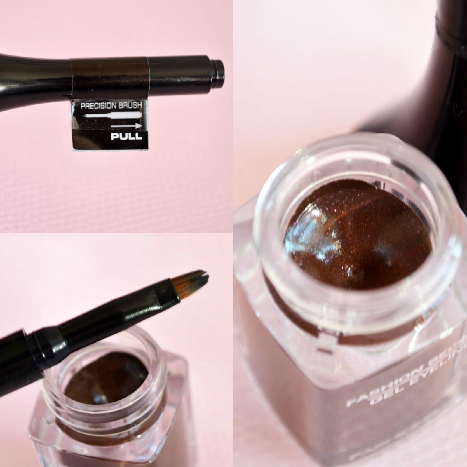 List of regions of Fashionista secret gel eyeliner shortlist review