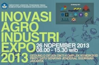 38 Karya Inovasi PT Ikut 'Inovasi Agroindustri Expo 2013'  CONTOH
