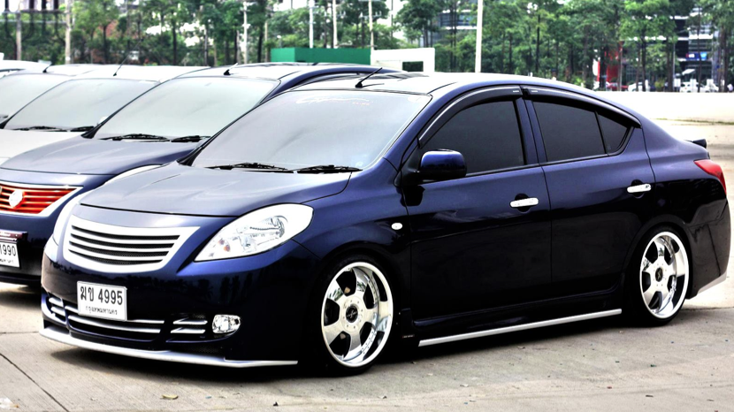 Story of car modification in worldwide nissan almera modified