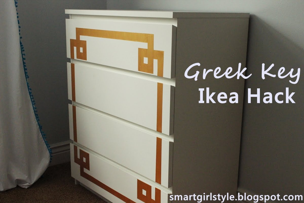 Smartgirlstyle bedroom makeover ikea malm dresser Ikea furniture makeover